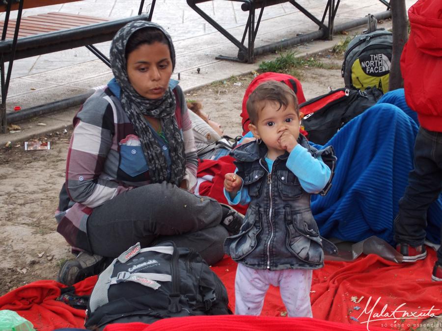 refugiado sírio Belgrado Sérvia