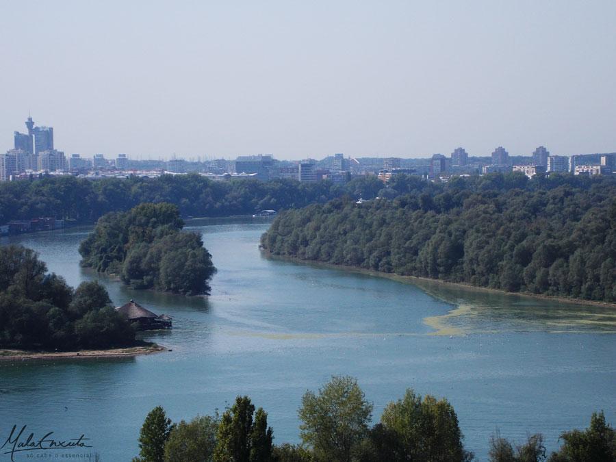 Belgrado-Danúbio-e-Sava