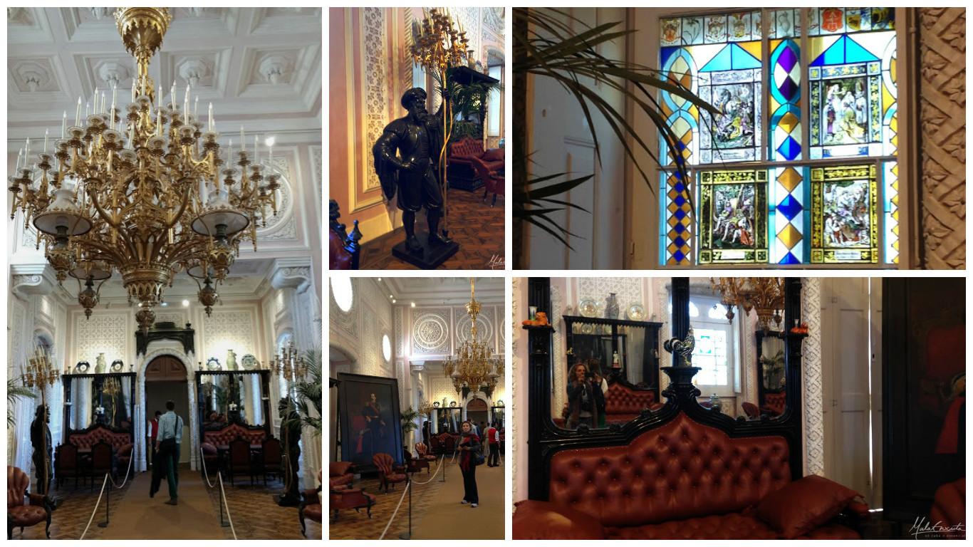 Salão de Baile no Palácio da Pena