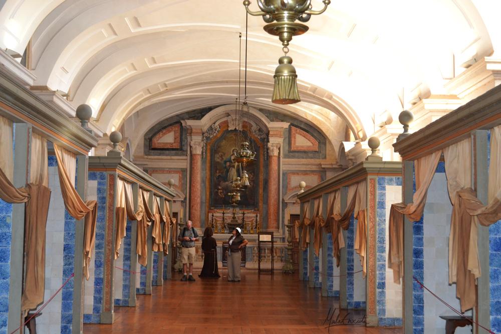 enfermaria dos monges do convento de mafra