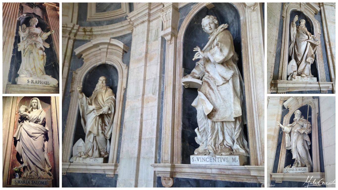 Estátuas em Mafra