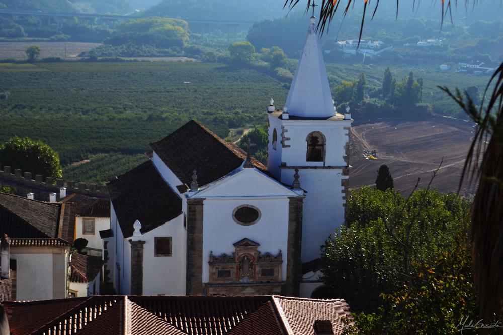 Igreja de São Pedro vista da muralha
