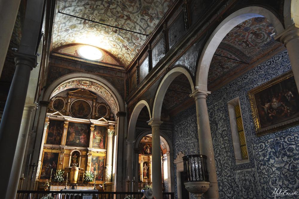 Interior da Igreja de Santa Maria em Óbidos
