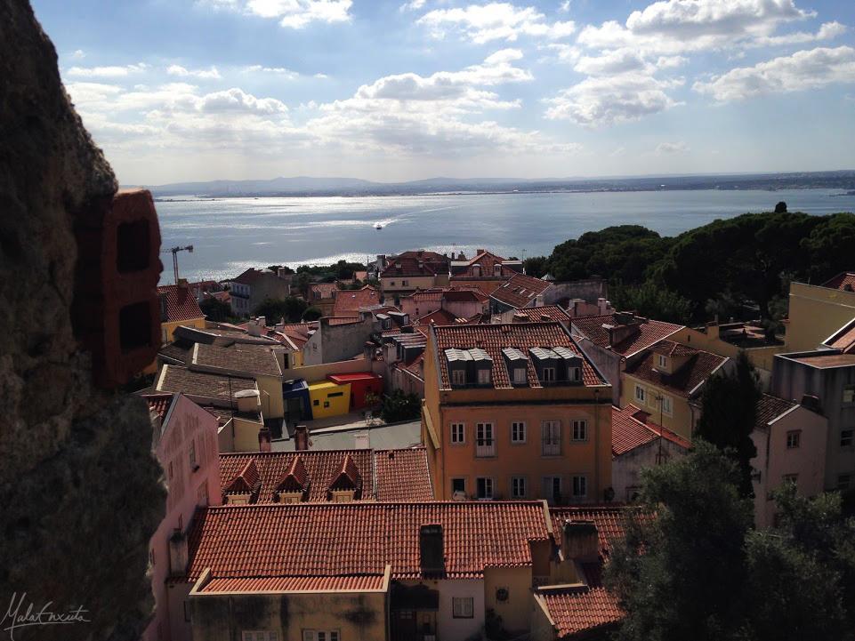 Cidade de LIsboa a partir do CAstelo de São Jorge