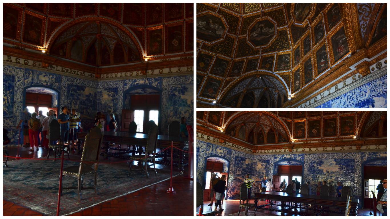 Sala dos Brasões do Palácio Real de Sintra