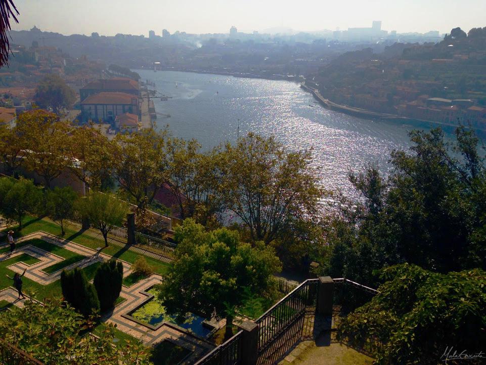 Vista dos Jardins do Palácio de Crista